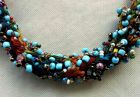 Detail - Rainbow Bead Necklace