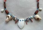 Detail-Itty Bitty Mix- Various Materials Necklace